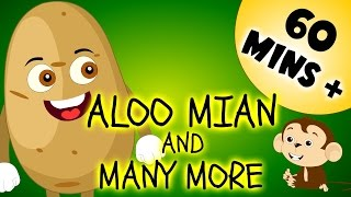 Aloo Mian And Many More | 60 Minutes + Compilation | Urdu Rhymes Collection