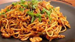 Chinese Egg Noodles street food-చైనీస్ ఎగ్ నూడుల్స్ స్ట్రీట్ స్టైల్