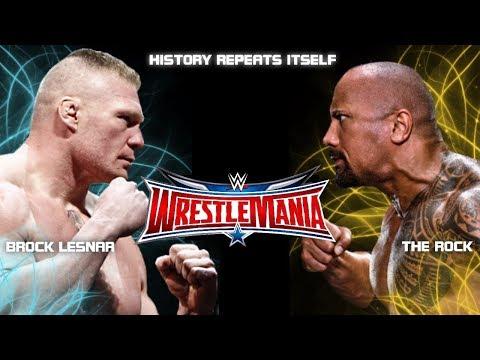 Xxx Mp4 WWE Wrestlemania 2018 Brock Lesnar Vs The Rock Promo The Rook Returns Wrestlemania 2018 PROMO 3gp Sex