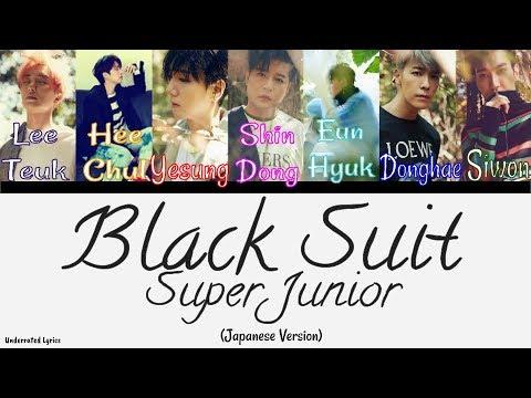 Super Junior: Black Suit Japanese Ver. (Jap/Romanji)