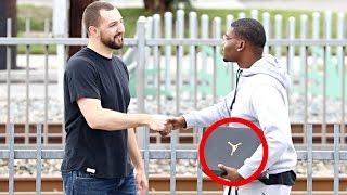 Giving Air Jordan