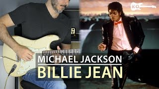 Michael Jackson - Billie Jean - Electric Guitar Cover by Kfir Ochaion