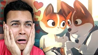 REACTING TO THE CUTEST LOVE ANIMATION (Here