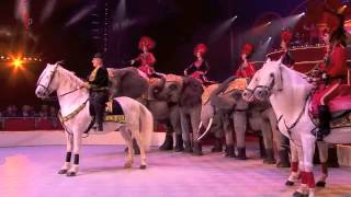 International Circus Festival - horses and elephants act