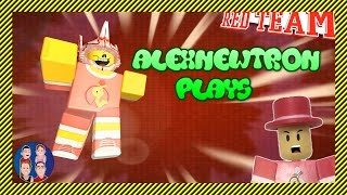 Alexnewtron the Roblox Toy Plays His Creations | Dodgeball | Wheel of Fortune - Roblox