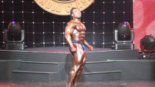 Kai Green Arnold Classic 2009 Posing