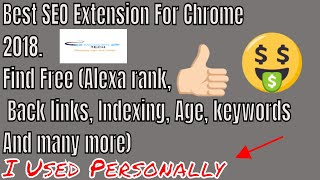 Best SEO Extension For Chrome 2018