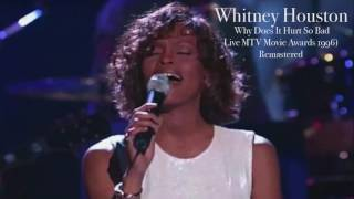 Whitney Houston Why does it hurt so bad Live MTV Movie Awards 1996 Remastered