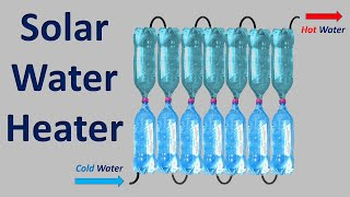 How to make a solar water heater at home  - A Study