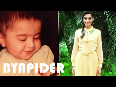 Sonam Kapoor Childhood Photos || Rare & Unseen pictures!!!