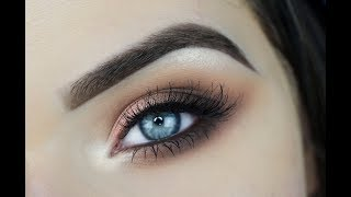 Rose Gold Jaclyn Hill Palette Eye Makeup Tutorial