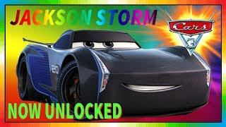 Cars 3 Driven to Win - gameplay - Jackson Storm
