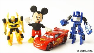 Mickey Kids Toy Adventure Playtime for Children Transformers Family Fun Pretend Play Doh Stop Motion