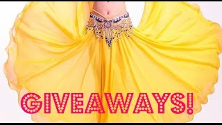 Belly dance giveaway: 4 circle skirts [CLOSED]