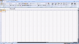 Introduction to Microsoft Excel 2007 for Absolute Beginners