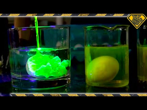 Pickling Eggs in Highlighter Fluid