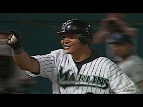 TB FLA Cabrera hits a walk off homer in his debut
