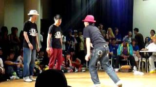 Floor The Love 2010 Popping Top 16 - Engineered Pops vs Then You Suffer (Extra Round)