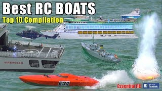 BEST TOP 10 Radio Controlled (RC) SHIPS and BOATS
