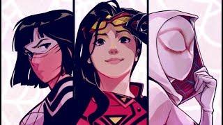 Comic Vorstellung #72 - Spider-Women: Mit Netz, Charme und Spinnenkraft (Marvel)