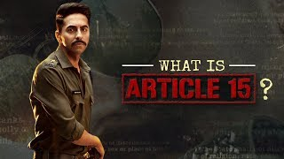 All you need to know about Ayushmann Khurrana's Article 15