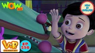 Vir: The Robot Boy - Merry Christmas fursatganj Part 1 - As Seen On HungamaTV - IN ENGLISH