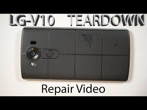 LG V10 Screen Repair, Dual Camera fix, 3 Microphone Locations