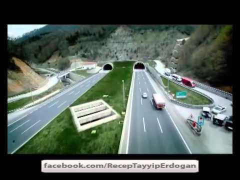 Bolu Dağı Tüneli Hayaldi, AK PARTi ile gerçek oldu..