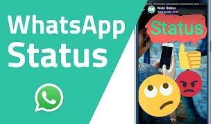 WhatsApp Status (Der alte Status wird zurückkommen!)