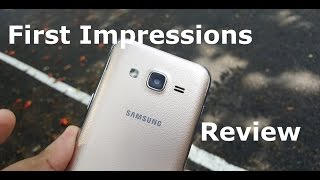[Hindi] Samsung Galaxy J2 (Gold, 8GB) power-pack informational first Impressions review