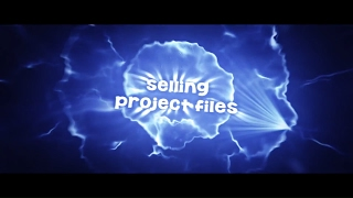 SELLING MY PROJECT FILES (C4D & AE)