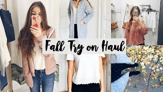 HERBST TRY ON HAUL 2016 // FASHION HAUL