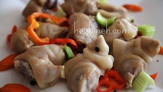 Pickled Pigs Feet Recipe - Mojoj Recipe - Armenian Cuisine - Heghineh Cooking Show