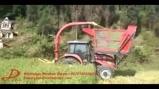 napier silage forage harvester king grass cutter machine