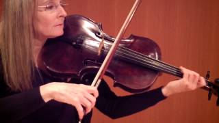 Katrina Wreede, Bop Caprice Two, live video viola performance