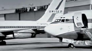 United Air Lines Pilot Training Promo Film - 1969
