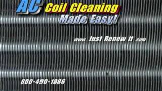 Steam Cleaner Blasts Clean AC Coils! Steam Cleaner system in action Air Conditioner Coil Cleaning