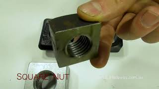 E.J. Hadaway Square Nut - Custom Specific Hot Forged Machined and Fabricated Products