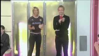 Soccerette Gold Gemma Atkinson Soccer AM