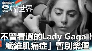 不曾看過的Lady Gaga! 「纖維肌痛症」暫別樂壇-李四端的雲端世界