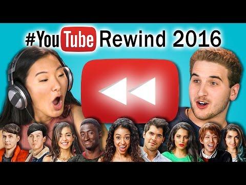 TEENS REACT TO YOUTUBE REWIND 2016
