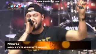 Joker - Ayben  Microphone Show [ #KralFest2014 ] Canlı Performans