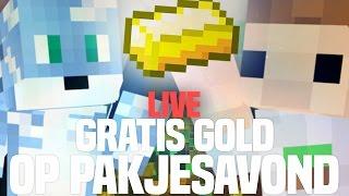 GRATIS GOLD OP PAKJESAVOND!! LIVE! (Clash of Clans in Minecraft)