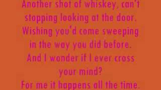 Need You Now - Lady Antebellum [LYRICS ON SCREEN]
