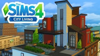 The Sims 4 | City Living - Penthouse Building