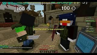 Minecraft - Hypixel GVG - guild vs guild - TSF VS CSTL.