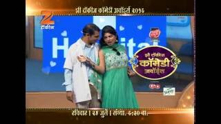 Zee Talkies Comedy Awards 2016 | Sairaat  | Sunday, 24th July, 6:30 PM