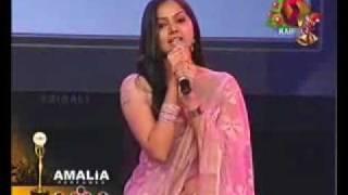 Samvritha Sunil Navel show