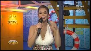 Fiorella Chirichigno puso a bailar a Jazmín Pinedo con este playback