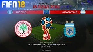 FIFA 18 World Cup - Nigeria vs. Argentina @ Saint Petersburg Stadium (Group D)